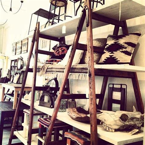 antique shelving ideas vintage ladder shelving ideas