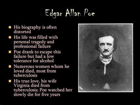 biography by edgar allan poe gothic literature and edgar allan poe ppt video online