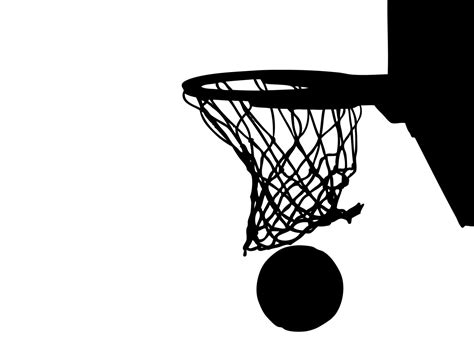 clipart basketball net clipground