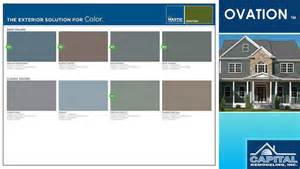 mastic siding colors mastic ovation siding color chart