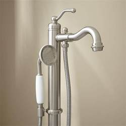 leta freestanding tub faucet with shower bathroom