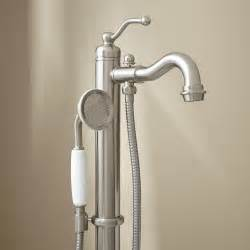 Bath Faucets With Hand Shower hand held shower head that attaches to tub faucet cleandus com