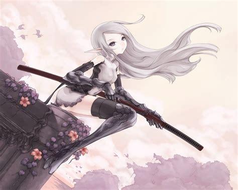 wallpaper engine anime pack anime kimono warriors blade wielding girl wallpaper pack