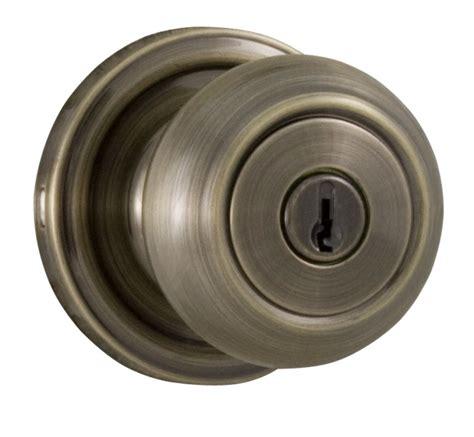 Weslock Door Knob by Weslock 00640zazasl23 Antique Brass Keyed Entry