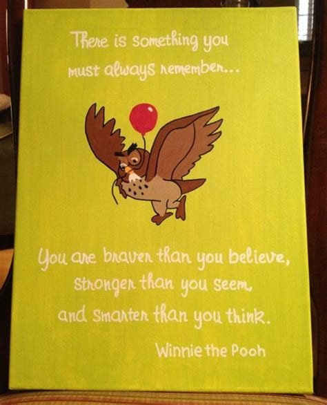 Custom Winnie The Pooh custom winnie the pooh canvas quote by colormythoughts on
