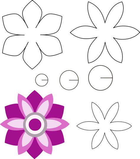 imagenes de flores grandes de foami moldes de fomi para navidad flores yonaimi patrones de