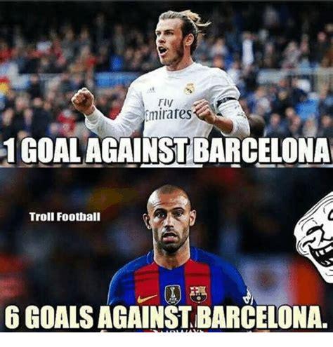 Barca Memes - fly emirates 1goal against barcelona troll football 6