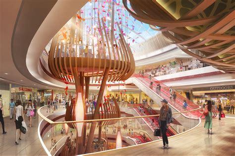 mall interior visualizations  behance