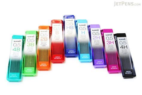 Uni Nanodia Pencil Lead 0 7 Mm 2b uni nanodia low wear pencil lead 0 5 mm hb jetpens