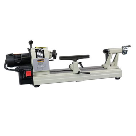 bench wood lathe bench top wood lathe wl 1218vs baileigh industrial