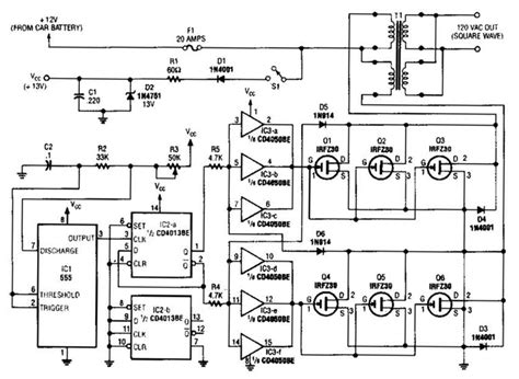 inverter welder schematic circuit diagram wiring diagram