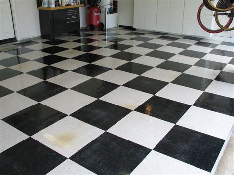 Checkerboard Vinyl Flooring by Garage Tiles Checkerboard Garage Tiles