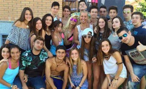 andrea janeiro colegio ylenia invitada vip al decimosexto cumplea 241 os de andreita