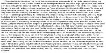 It Revolution Essay by The Revolution Essay Exle At Essaypedia