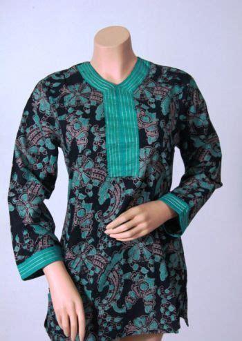 mutia top atasan wanita model baju atasan batik wanita modern model batik kerja