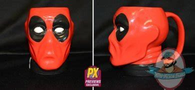 Istimewa Dompet Marvel Deadpool Model 3 Import marvel deadpool previews exclusive molded mug of figures