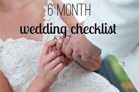 Wedding Checklist Timeline 6 Months by 6 Month Wedding Timeline Archives Bexbernard