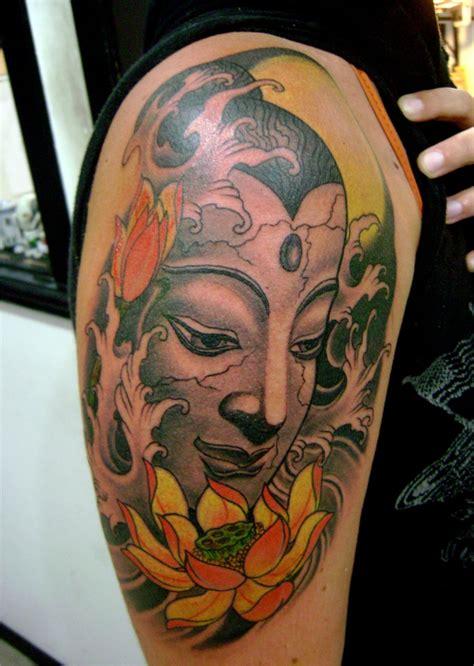 buddha and lotus flower tattoo designs buddhist images designs