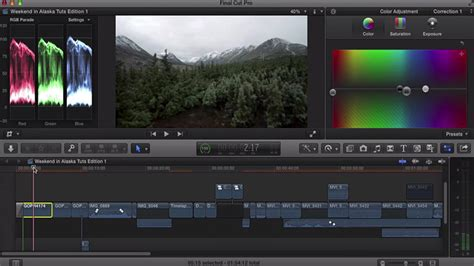 final cut pro color correction how to color correct video footage in final cut pro