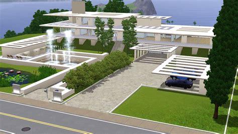 unique modern sims 3 house plans new home plans design sims 3 modern dream crib by ramborocky on deviantart