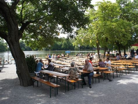 Biergarten Am See Englischer Garten München by Bierg 228 Rten M 252 Nchen Seehaus