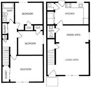 3 Bedroom Townhouse Floor Plans 3 Bedroom Townhouse Floor Plans Galleryhip Com The