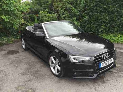 manual cars for sale 2012 audi a5 transmission control audi 2012 a5 convertible 2 0 tdi manual black 57k car for sale