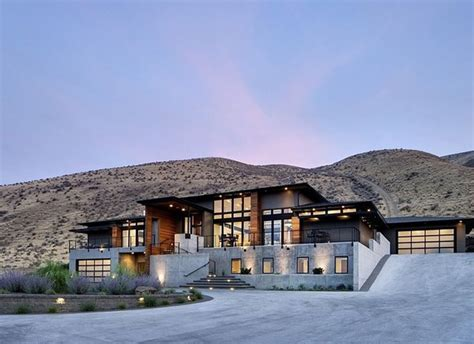 industrial house designs industrial mountain house design