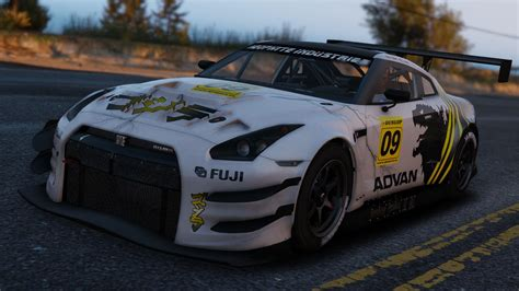 nissan gtr gta 5 nissan gtr gt3 add on gta5 mods com