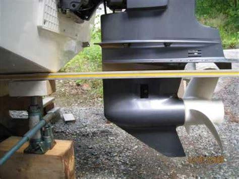 bass boat trim tab adjustment yamaha90 optimal height youtube