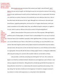 Opinion writing paper template