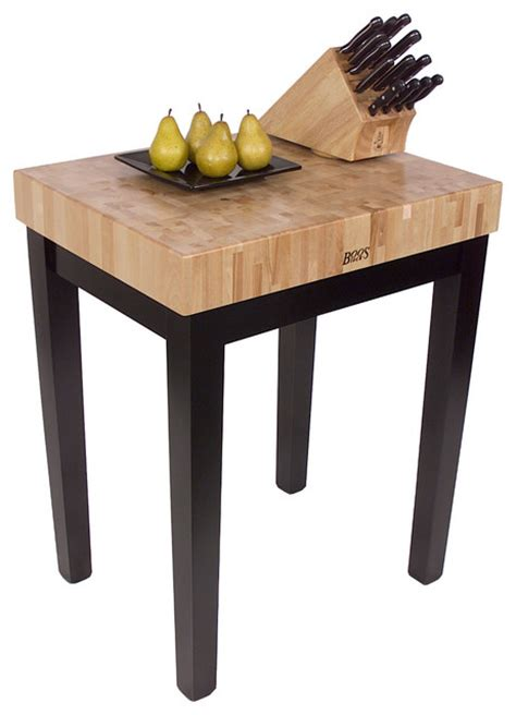 boos kitchen islands john boos chef s block 4 quot thick end grain maple butcher
