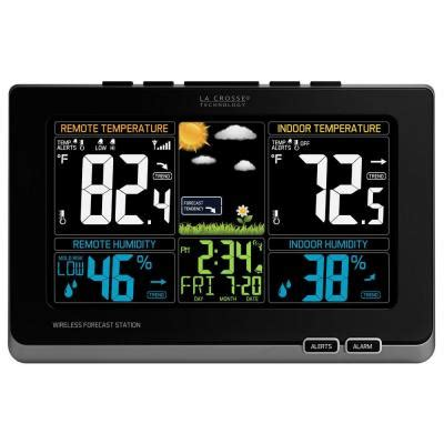 la crosse technology digital wireless color weather