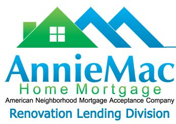 Anniemac Home Mortgage 203k lenders 171 certified 203k contractors