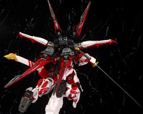 Metal Build Gundam Astray Frame Plus Flight Unit Bandai Built metal build gundam astray frame flight unit option set