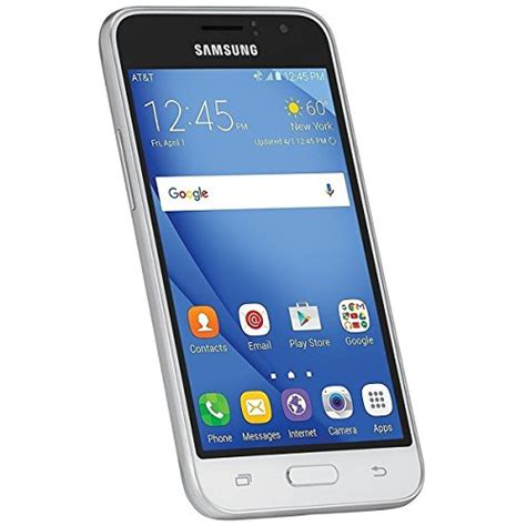 Samsung J1 White Smartphone samsung galaxy j1 4g lte white smartphone gsm unlocked