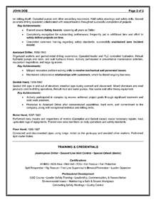 Sports Consultant Sle Resume by Epic Exle Of A Oilfield Consultant Resume Sle