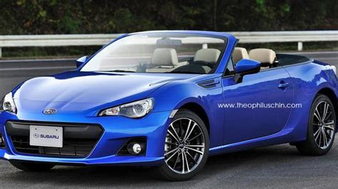 awd subaru brz subaru confirms awd twin turbo convertible two seater