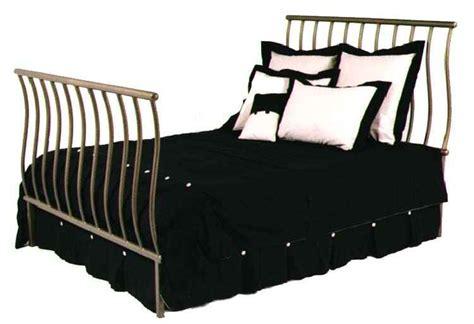 iron sleigh bed frames grace wrought iron beds headboards metal frames