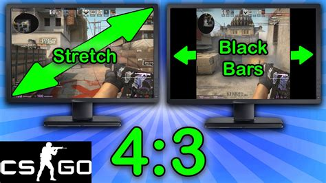 go to video csgo 4 3 resolution tutorial stretched black bars