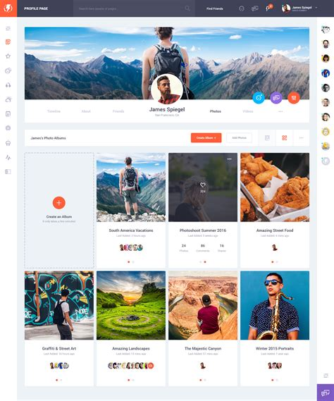 themeforest olympus olympus social network psd template v1 5 by odin design