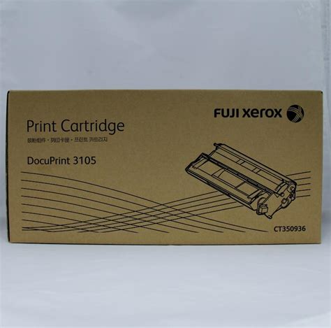 Toner Fuji Xerox Docuprint 3105 xerox dp3105 toner 15k ct350936 printer cartridges