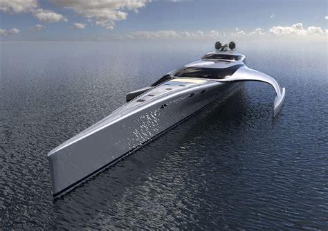 trimaran luxury yacht 42m trimaran motor yacht hang tuah bow yacht charter