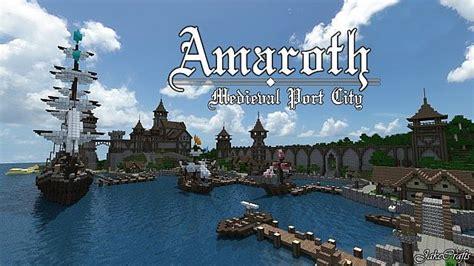 amaroth port city minecraft project