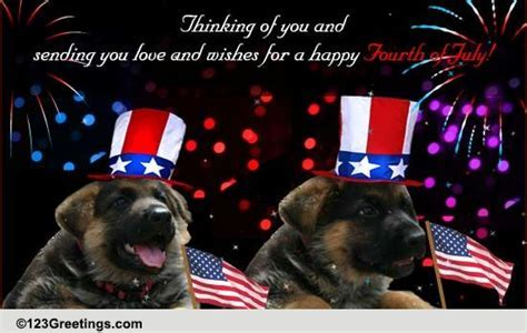4th July Wishes For Your Friend! Free Friends eCards