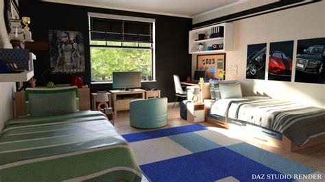 boys dorm room inlite studio  store