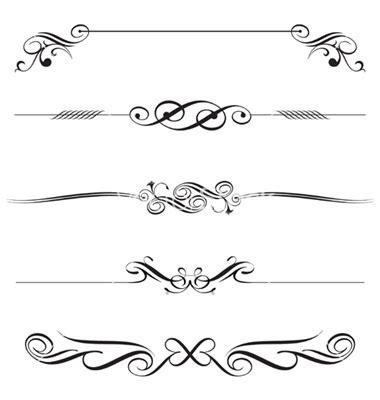 vector decorative design elements page decor 11 free decorative elements vectors images vector
