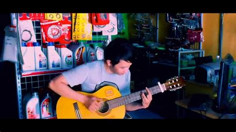 tutorial fingerstyle mudah idina menzel disney frozen ost quot let it go quot nathan