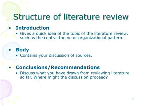Literature Review How To Write Introduction by Literature Review Powerpoint Presentation
