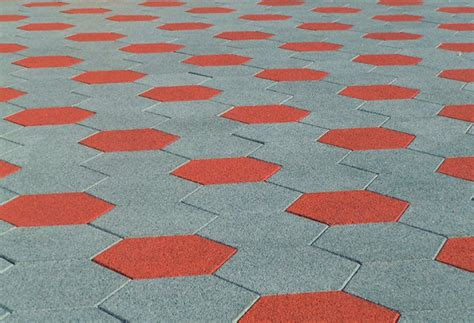 sofscape hexagonal rubber paver safety concepts